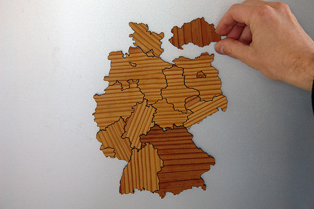 Magnetic Geography Puzzles