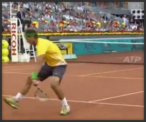 Nadal's Tweener Shot