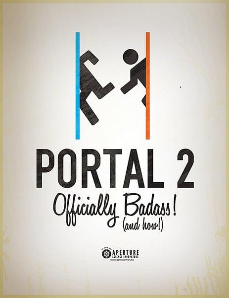 Portal 2 Fan Posters