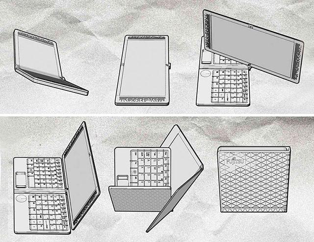 Fujitsu Flexbook Concept