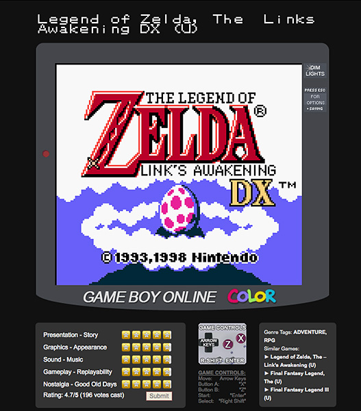 nintendo games online play