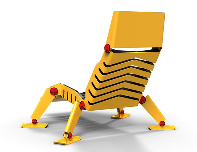 Bulldozer Lounge Chair