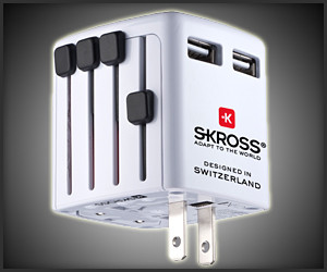 Skross World Twin USB Charger