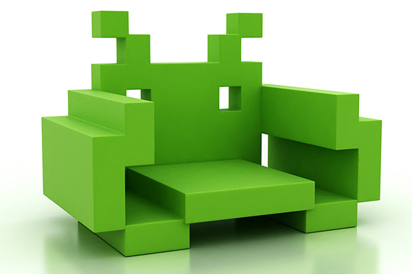 Space Invader Chair