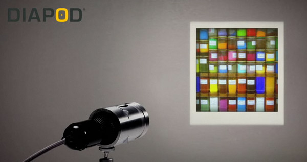 Diapod Slide Projector