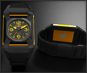 B&R x Apple Watch Concept