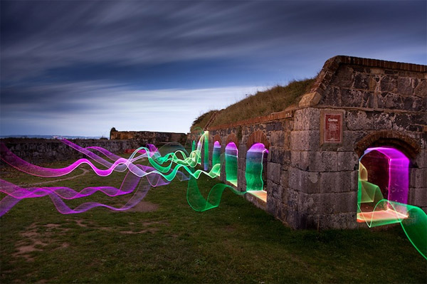 Bunker Light Painting