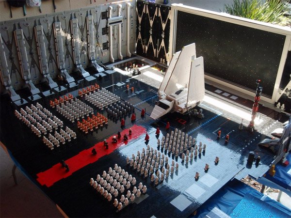 Epic LEGO Star Wars Diorama
