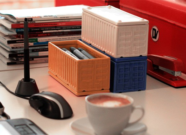Desktop Cargo Containers