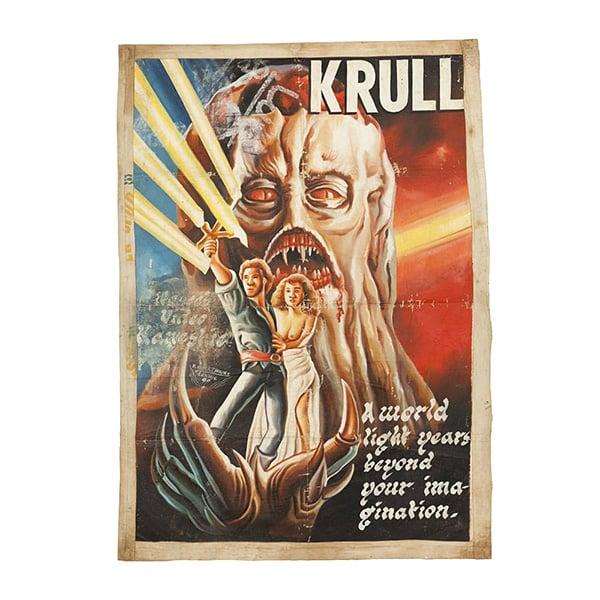 80s Ghana Movie Posters