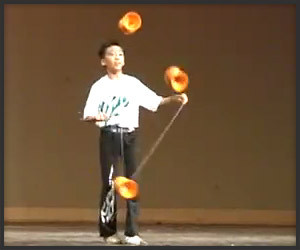 The Dexterous Diabolo Performer