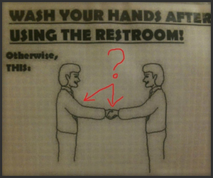 Wash Your Abnormal Hands