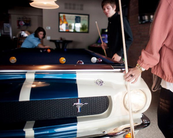 Custom Car Pool Tables Ford Mustang Pool Table