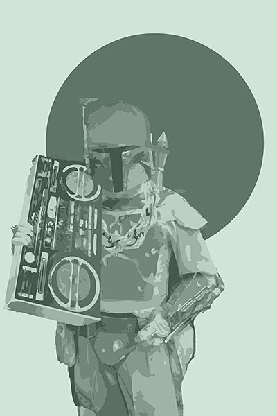 Harshness Star Wars Prints