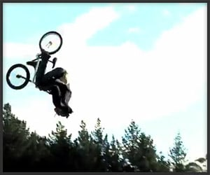 BMX Triple Backflip