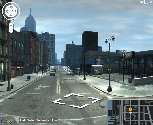 GTA IV Street View