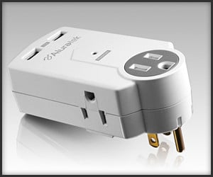Dual USB Outlet Adapter