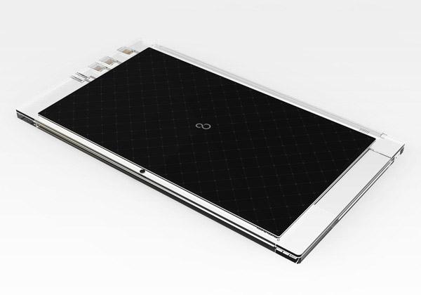 Luce Solar Laptop Concept