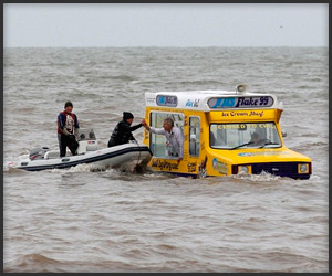 Amphibious Ice Cream Van