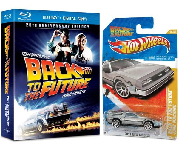 BTTF Trilogy + Hot Wheels