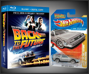 BTTF Trilogy + Hot Wheels