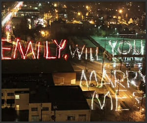 Light-Painted Proposal