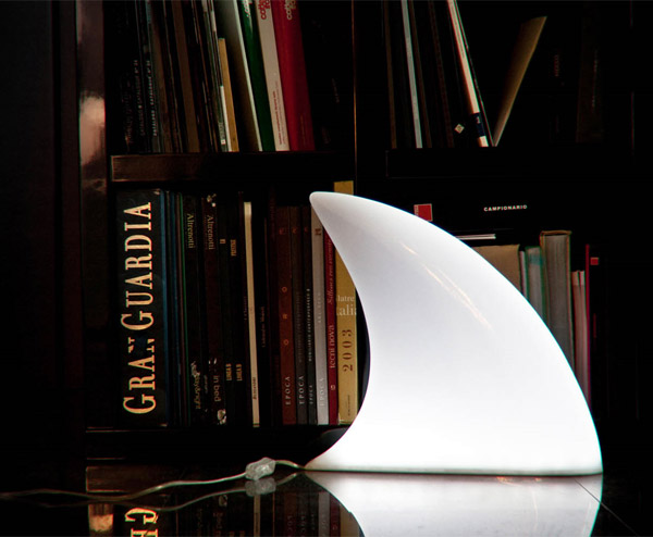 Shark Lamp - The Awesomer