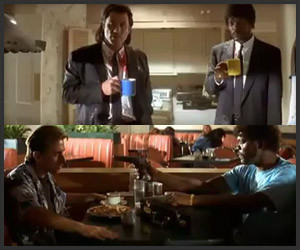 Pulp Fiction: Only Swearing