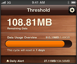 Threshold iOS App