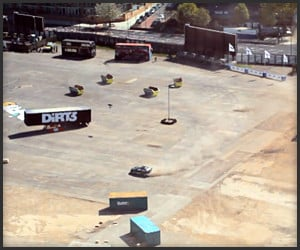 Gymkhana @ Battersea: Tilt-Shift