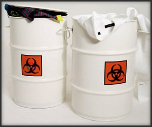 Biohazard Laundry Hampers