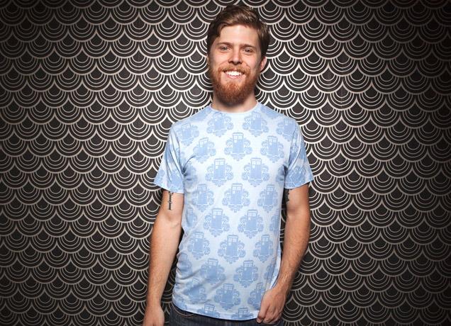 TARDamask T-Shirt