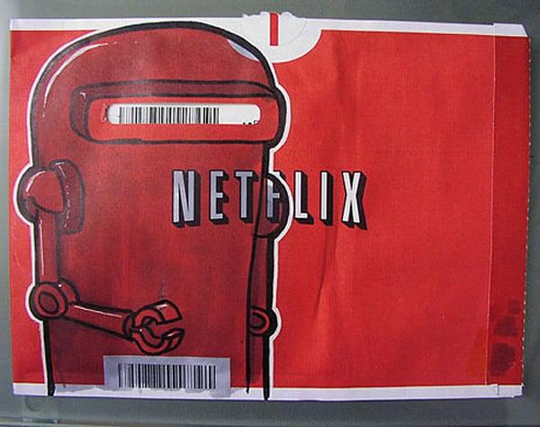Netflix Doodle Art