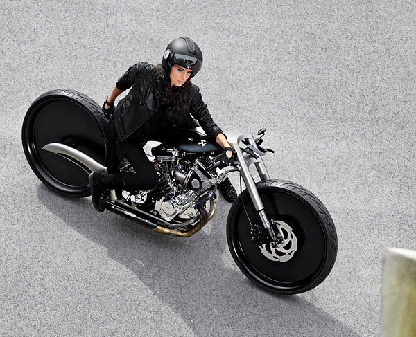 Dream Machine Motorcycles AkrapoviA Morsus Motorcycle