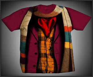 Doctor Who Costume Shirts