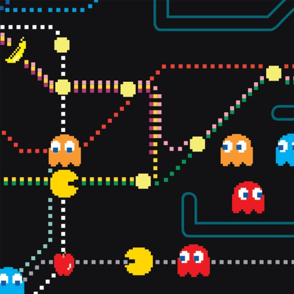Pacman Tube Map