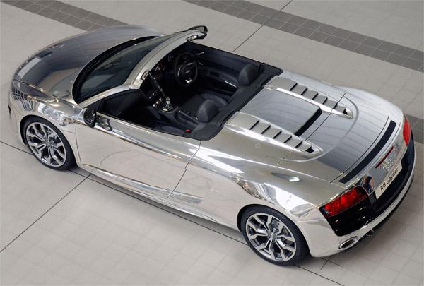 Chrome Audi R8