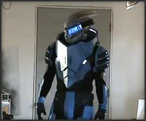 Mass Effect 2 Garrus Cosplay