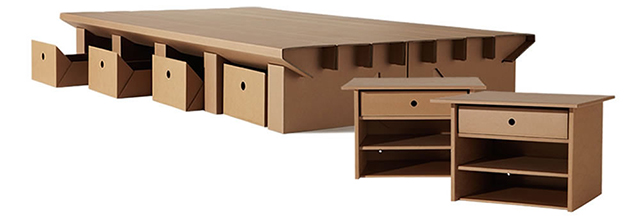 karton cardboard furniture. Karton Cardboard Furniture