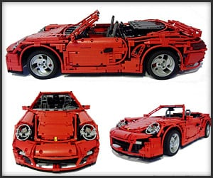 Working LEGO Porsche 911