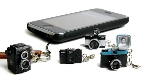 Lomo Camera Keychains