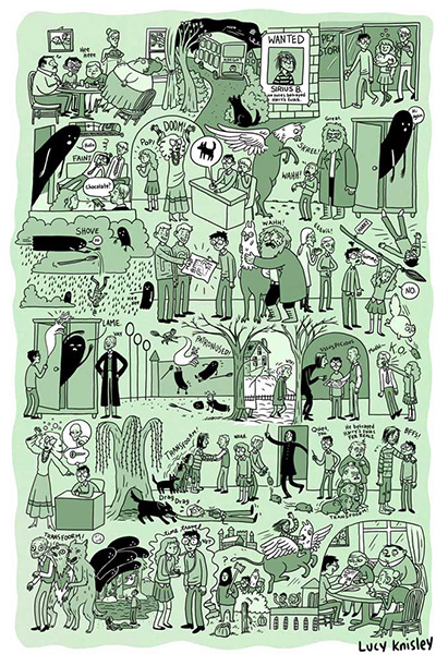 HPosters Harry Potter Comics