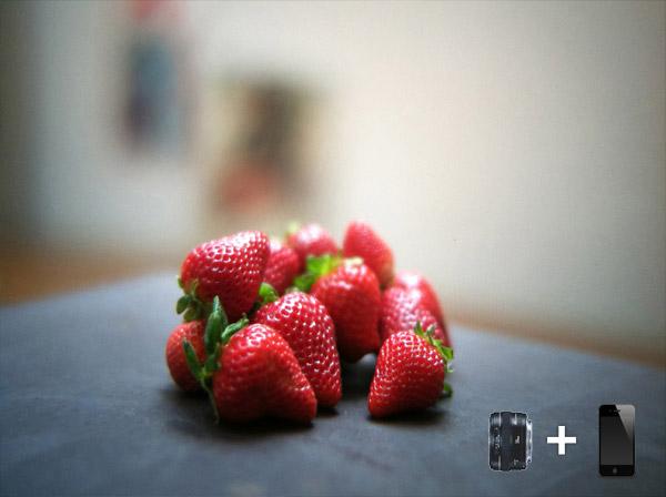 iPhone SLR Lens Mount