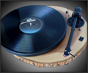 Audiowood Chipmunk Turntable