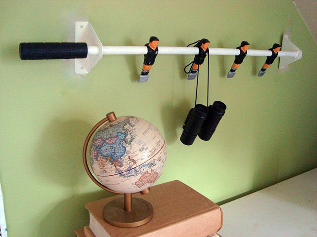 Foosball Coat Racks