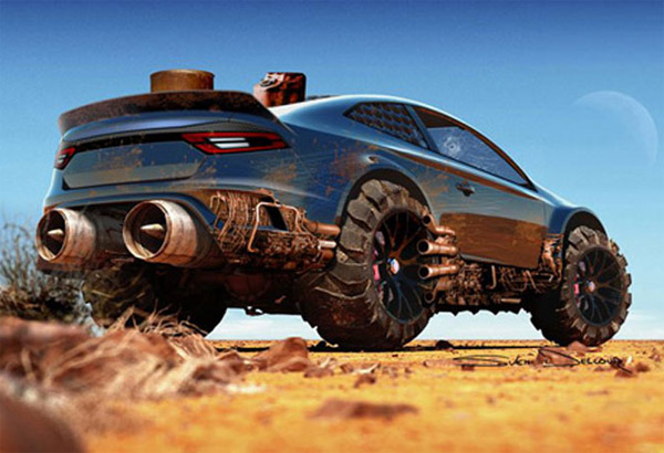 Mad Max Interceptor Concepts