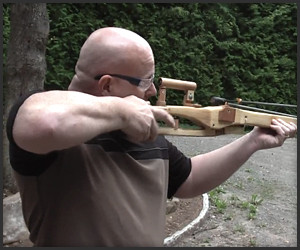 Slingshot with Rifle Scope
