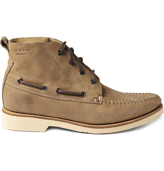 Wakefield High Top Boat Shoes - The Awesomer