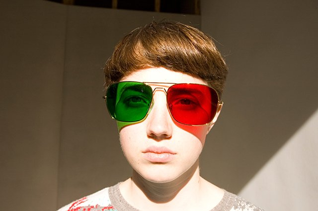 Project No.8 Redgreen Glasses
