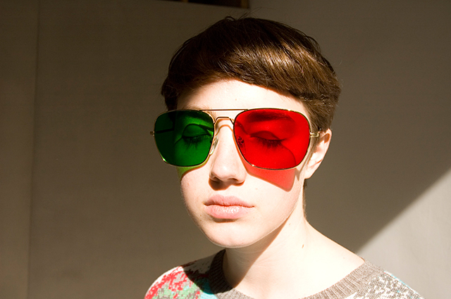 Project No.8 Redgreen Glasses